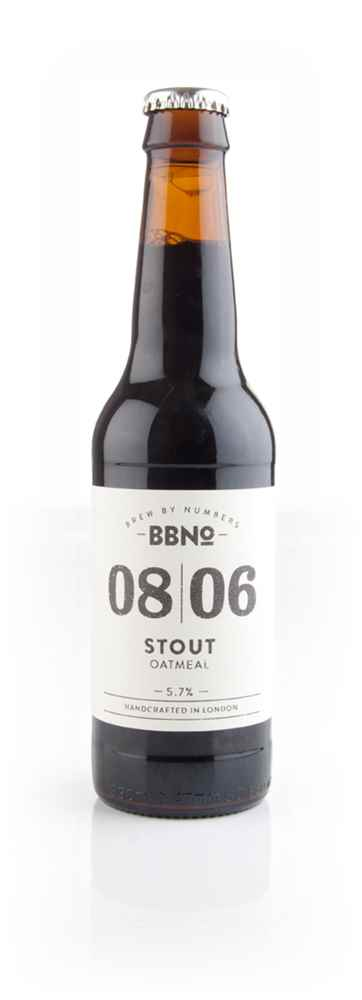 Brew By Numbers 08|06 Stout (Oatmeal)