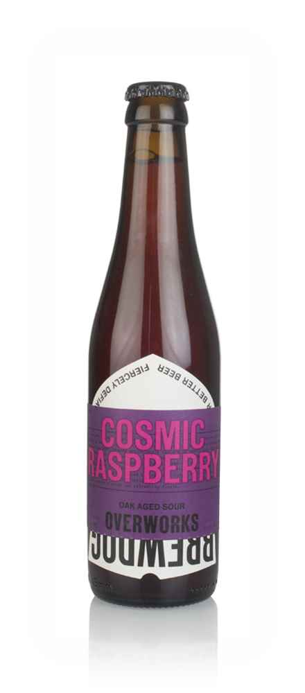 BrewDog OverWorks Cosmic Crush Raspberry Sour