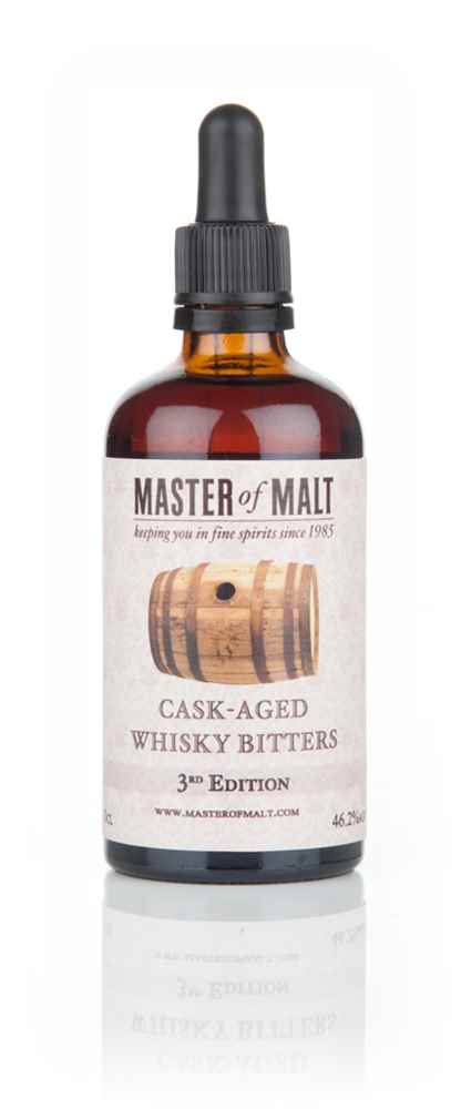 Master of Malt Cask-Aged Whisky Bitters 3rd Edition 10cl