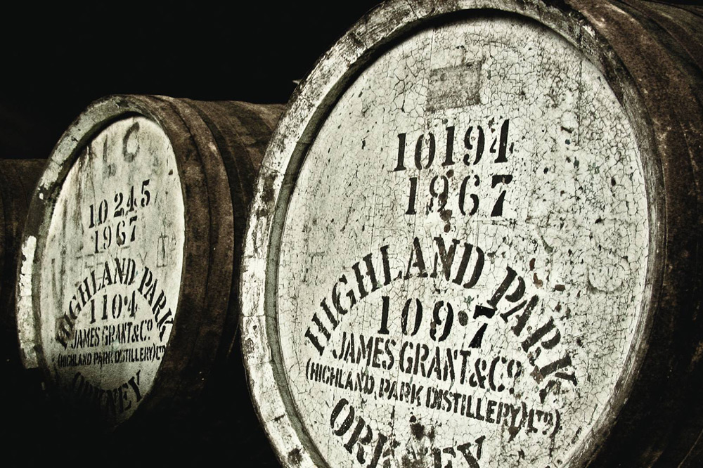 Highland Park Sherry casks