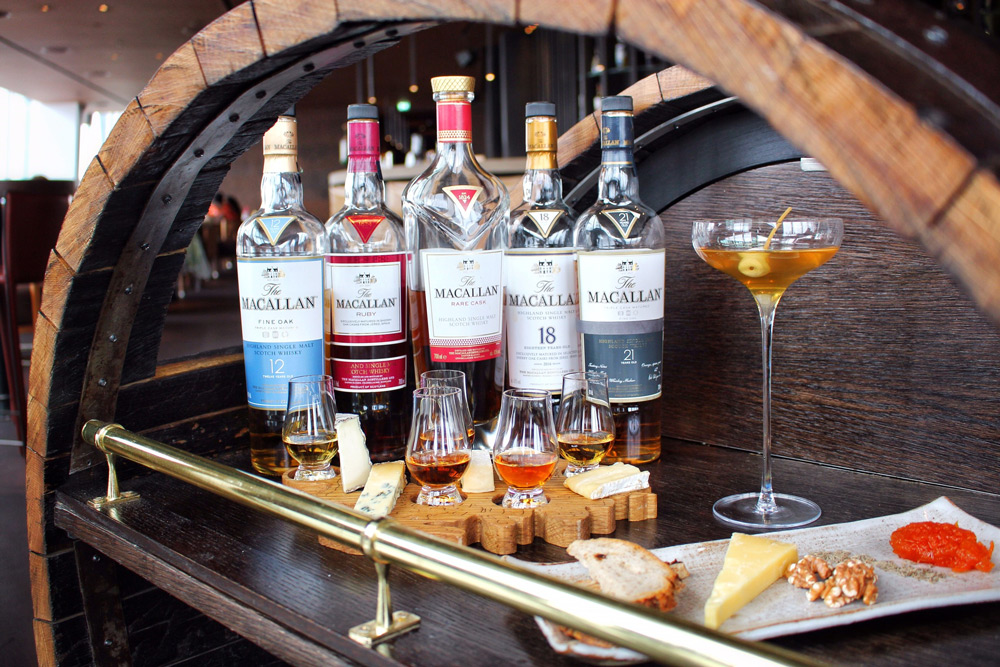 The Macallan Whisky Trolley
