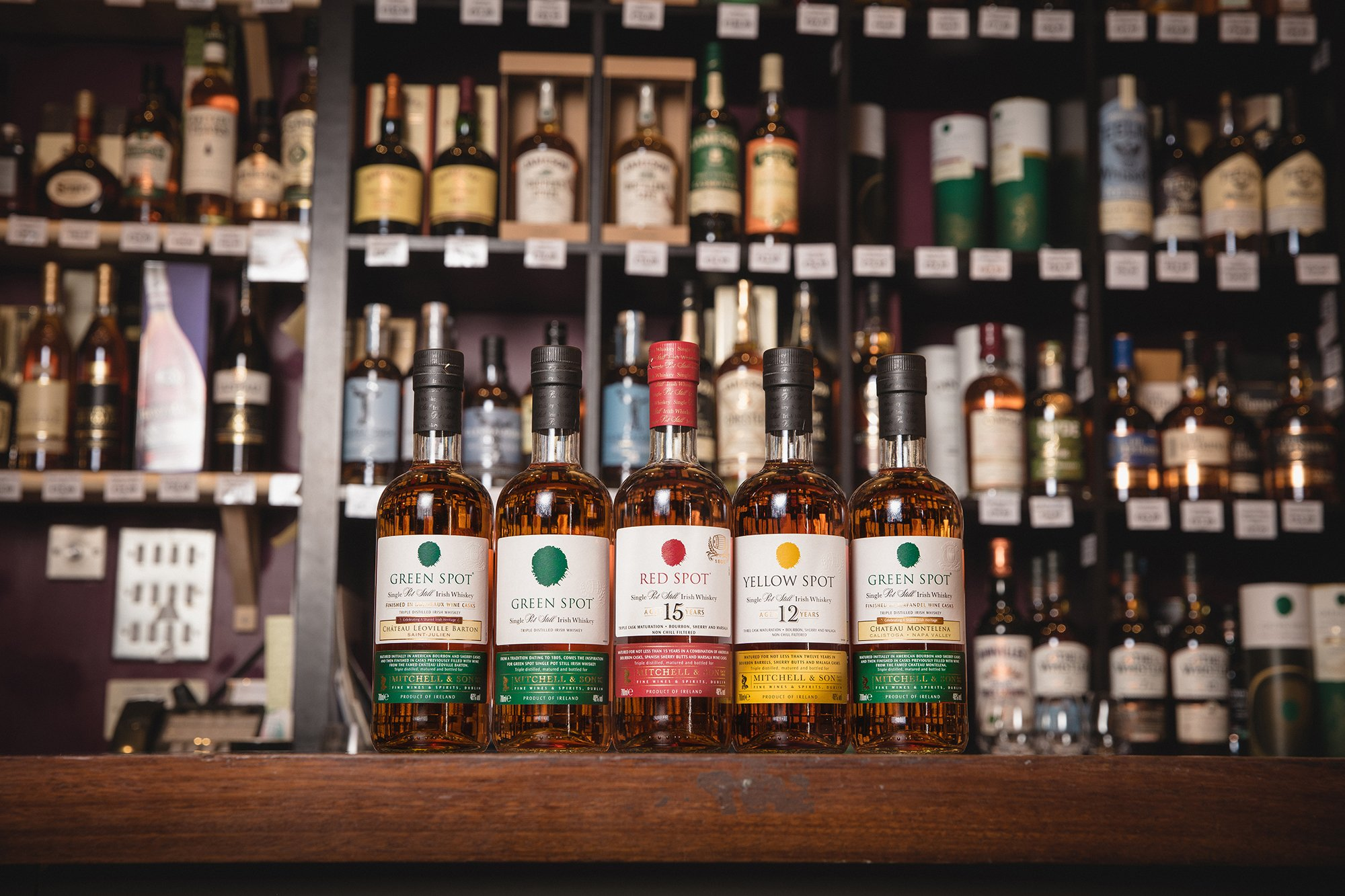 Spot Irish whiskey family