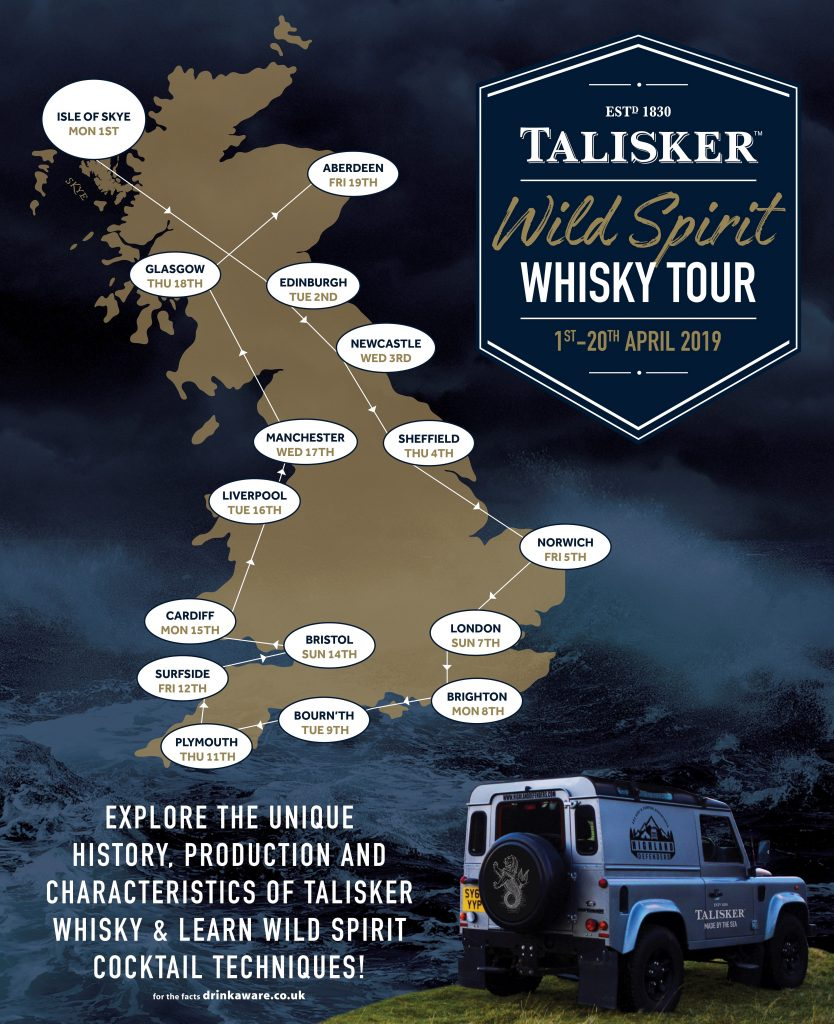 Talisker's top five ways to bring Wild Spirit to your cocktail