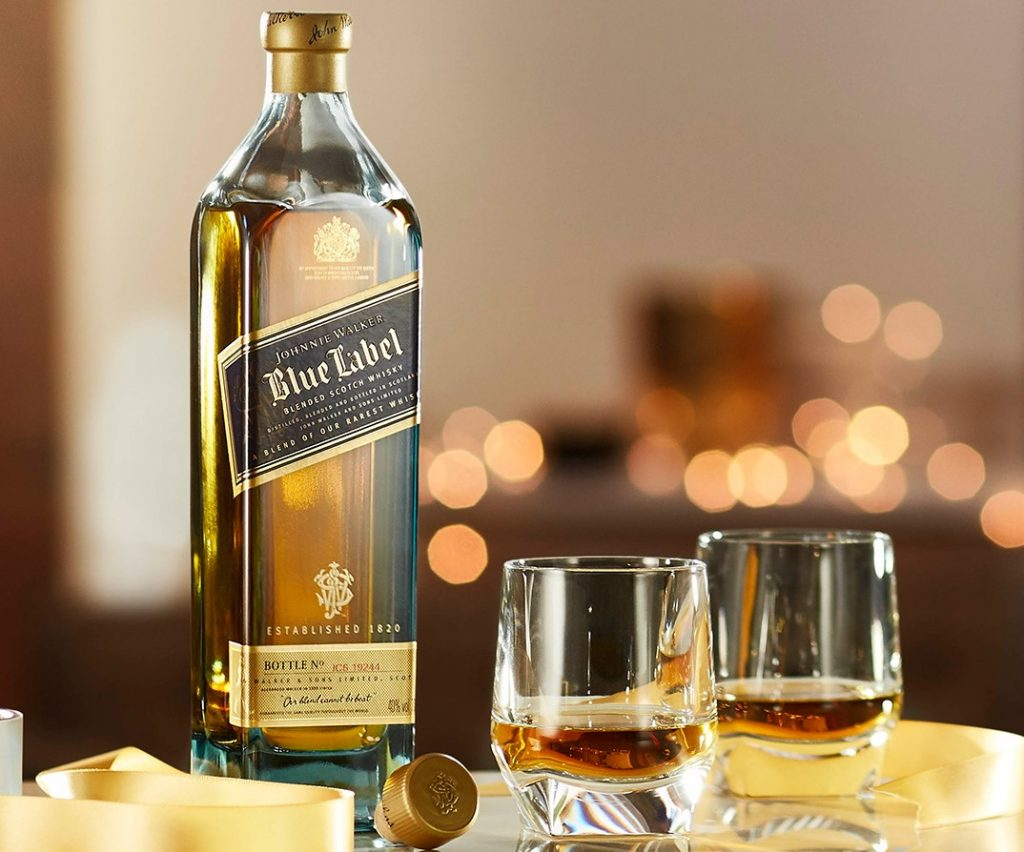Johnnie Walker Blue Label masterclass with Colin Dunn