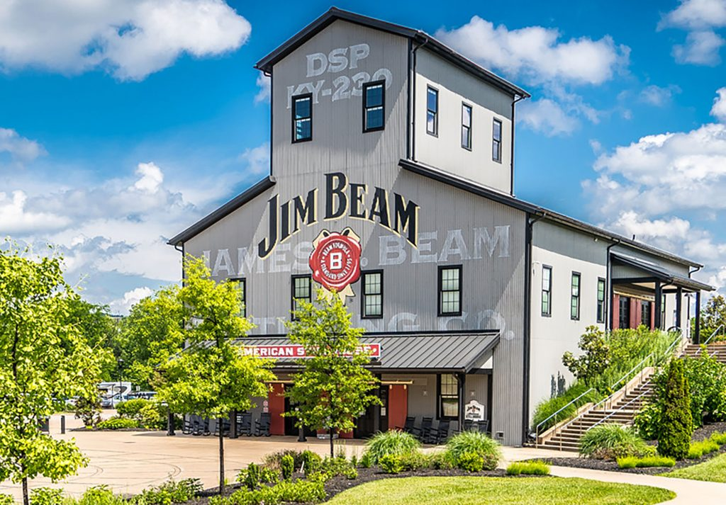 major fire at Jim Beam