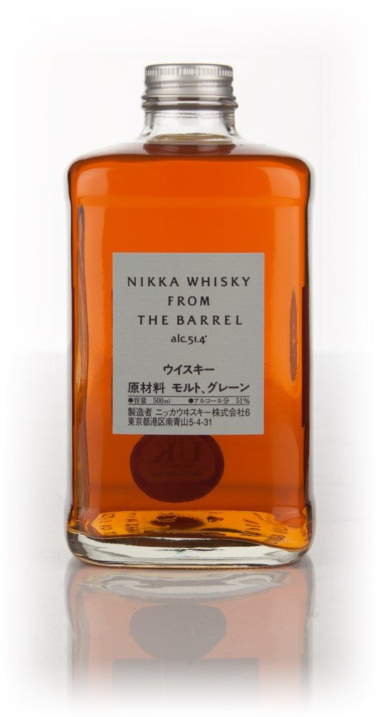 world spirits nikka from the barrel