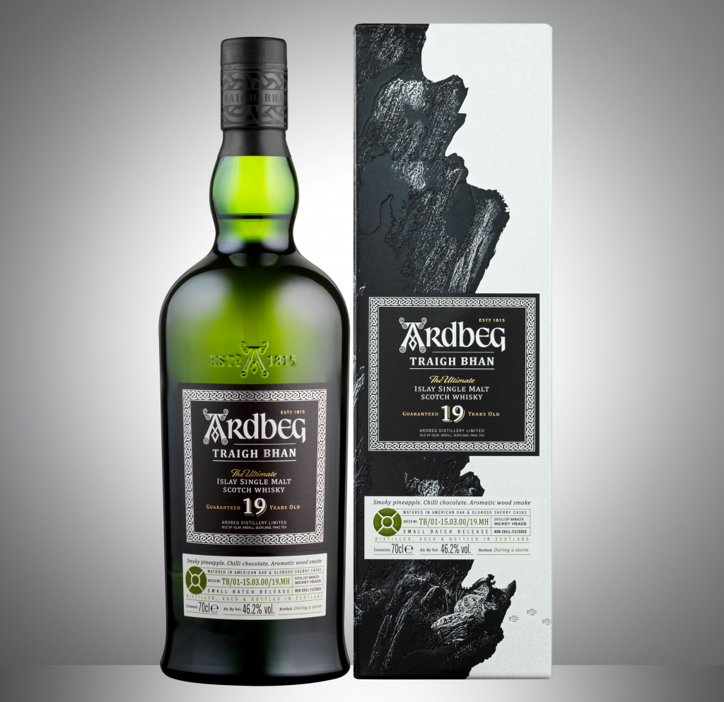 Ardbeg adds 19 year old expression to core range