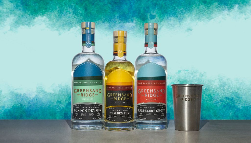 The winners of two bundles of spirits from Greensand Ridge are...
