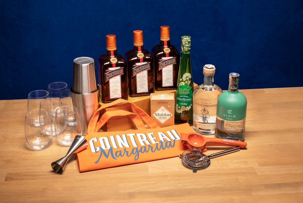 The winner of a bundle of Cointreau booze is...