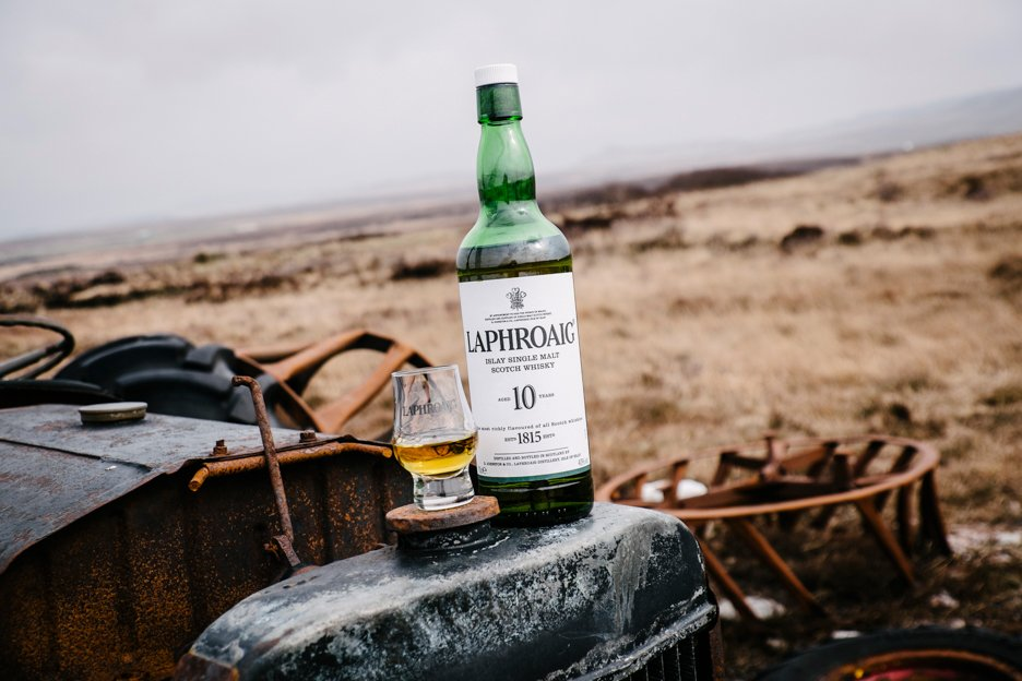 Laphroaig 10 Year Old goes brilliantly with seafood