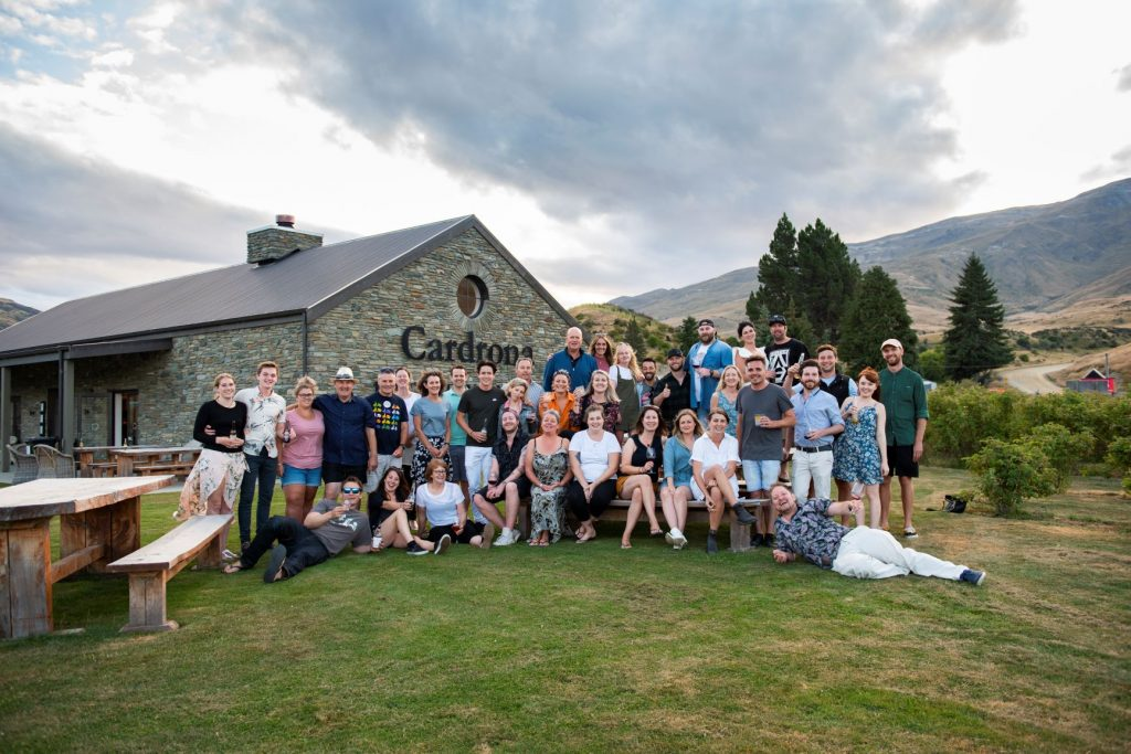 The team at Cardrona Distillery New Zealand