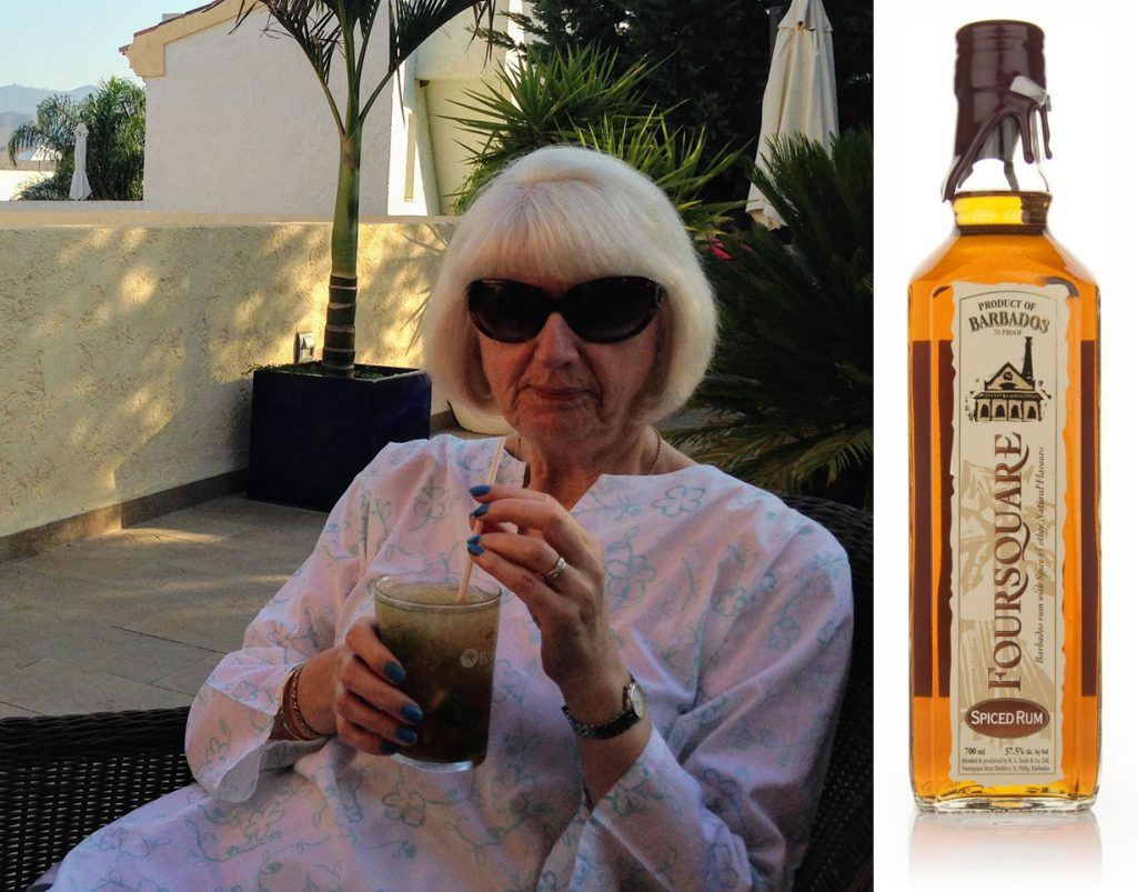Mother Hodcroft will get Foursquare Spiced Rum for Mother's Day