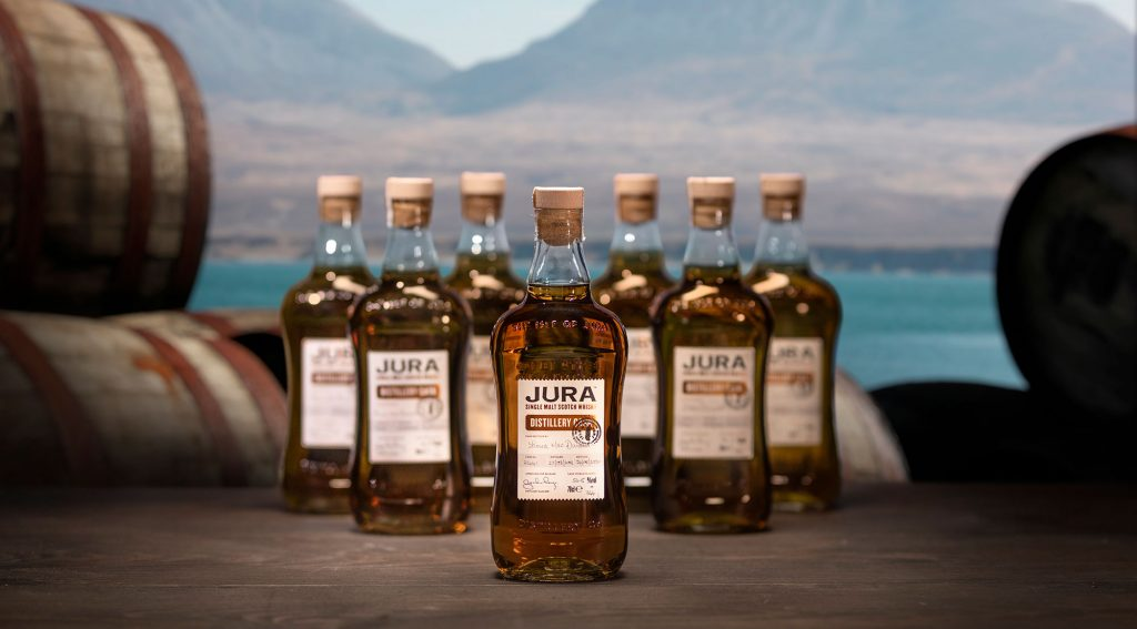 The winner of a VIP trip to Jura Distillery is...