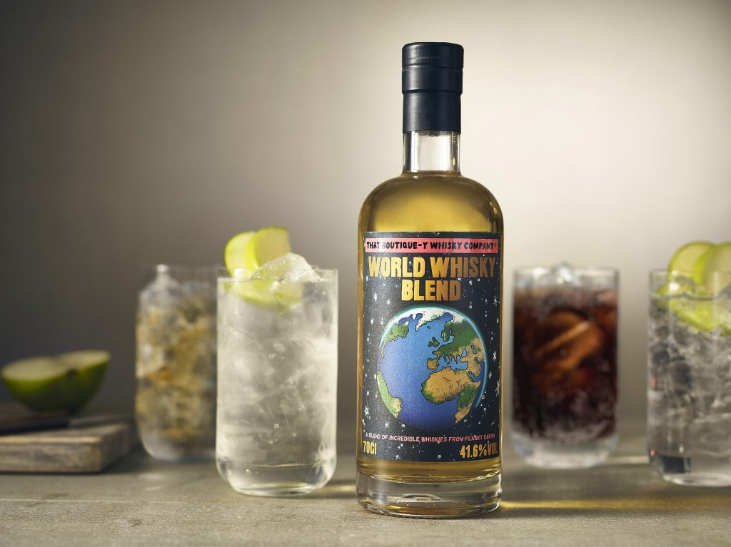 World Whisky Blend serves
