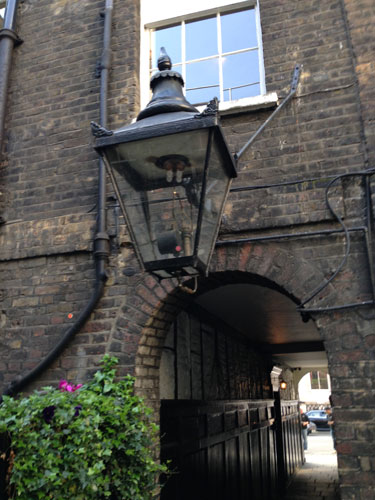 Berry Brothers and Rudd Lantern on Pickering Place