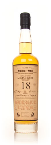 Miltonduff Single Cask Master of Malt