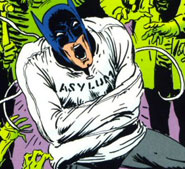 Batman in asylum