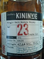 Kininvie Single Malt Whisky
