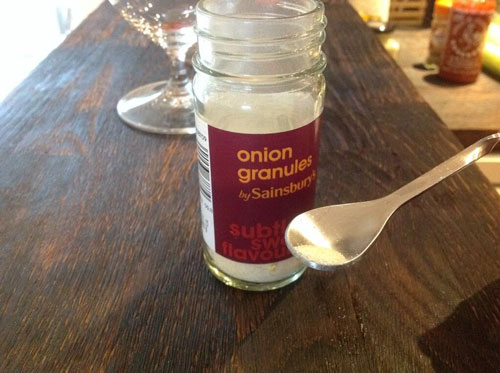 Master of Cocktails onion granules