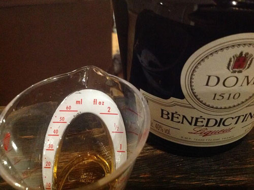 Master of Cocktails Benedictine liqueur