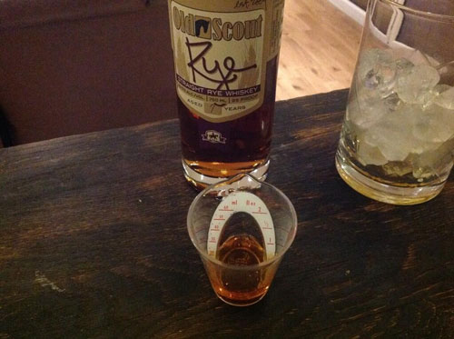 Master of Cocktails Vieux Carre Noeleux Old Scout 7 year old Rye