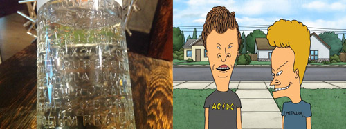 Master of Cocktails Botanist Gin Beavis and Butthead