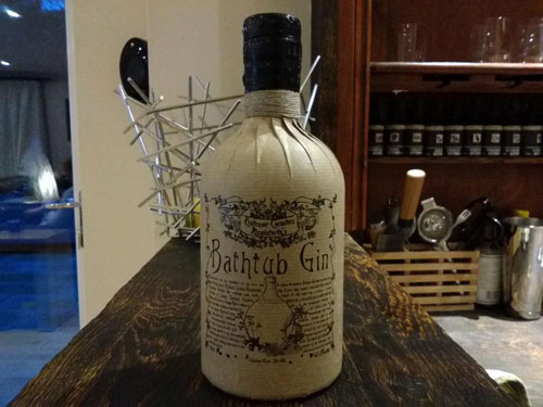 Master of Cocktails Bathtub Gin