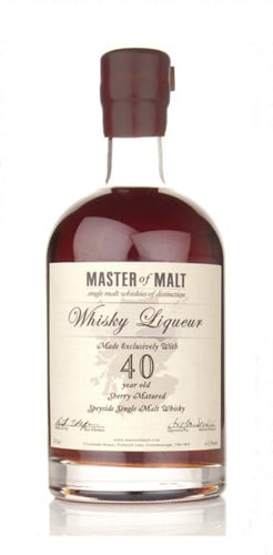 Master of Malt 40 Year Old Speyside Liqueur