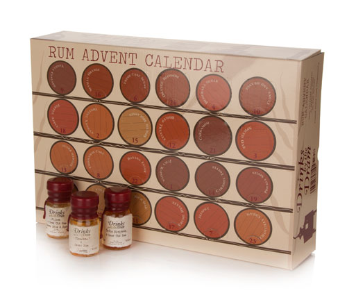 Drinks by the Dram Rum Advent Calendar
