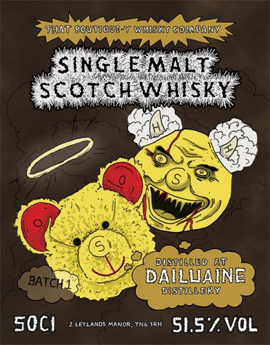 Dailuaine whisky That Boutique-y Whisky Company