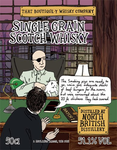 North British whisky That Boutique-y Whisky Company