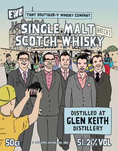 That Boutique-y Whisky Company Glen Keith Batch 1