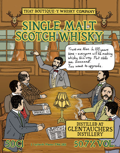 Glentauchers Batch 1 That Boutique-y Whisky Company