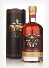 Van Ryn's 12 Year Old Distillers Reserve 3cl Sample