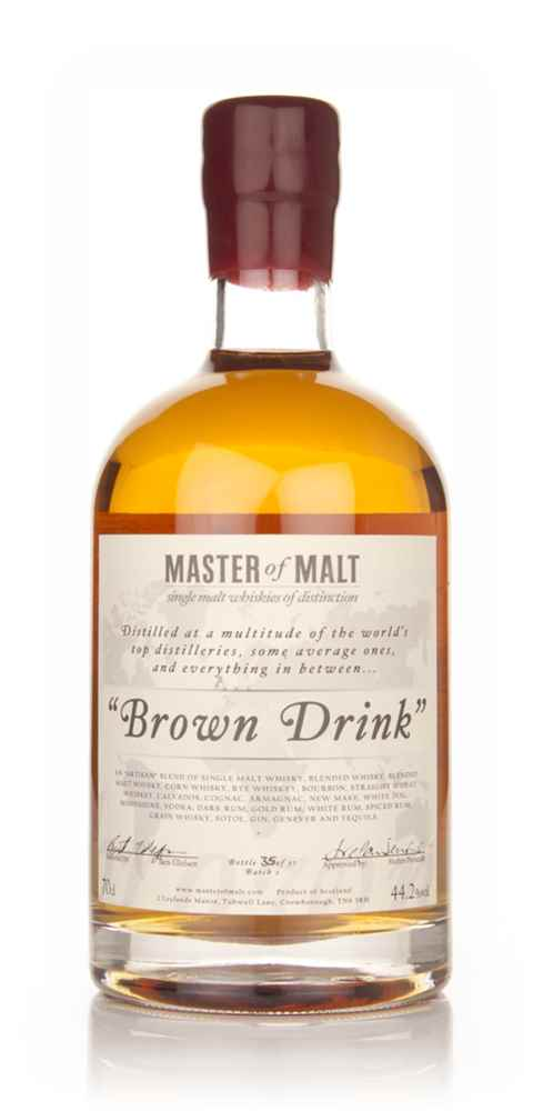 Master of Malt's Brown Drink (Batch 1)