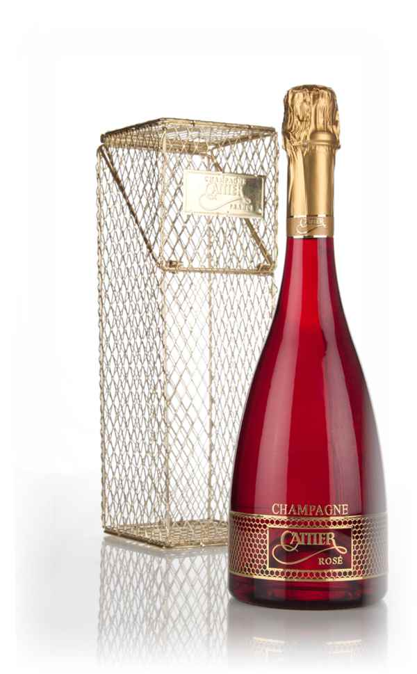 Cattier Rosé Red Kiss in Arabesque Cage