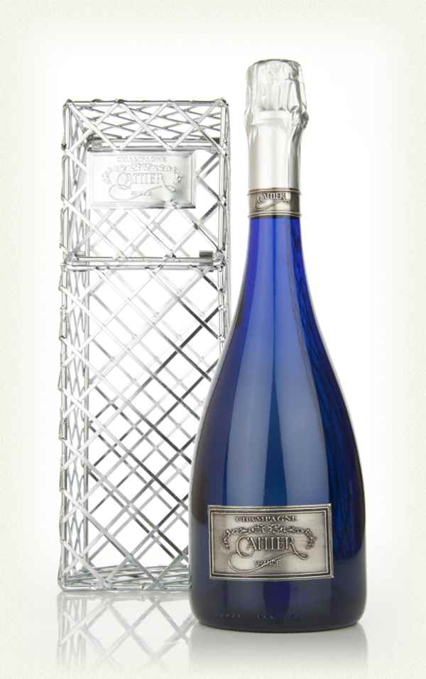 Cattier Brut Saphir in Arabesque Cage