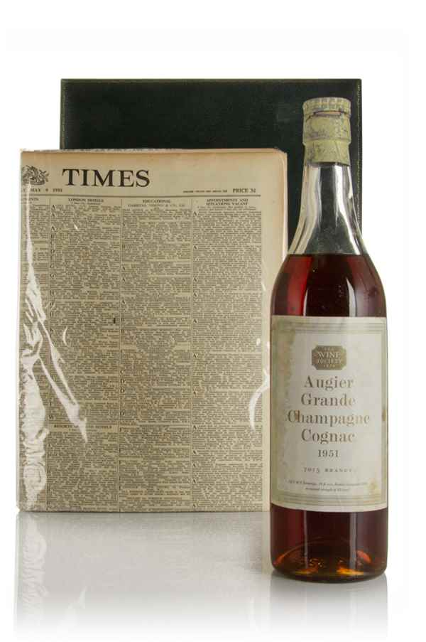 Augier Grande Champagne Cognac (The Wine Society) - 1951