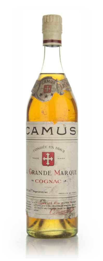 Camus Three Star Cognac - 1960s