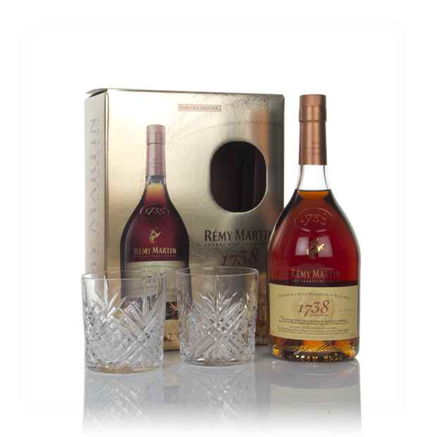 Rémy Martin 1738 Accord Royal Gift Pack with x2 Glasses