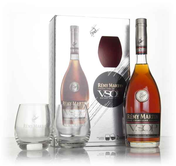 Rémy Martin VSOP Gift Pack with 2x Glasses