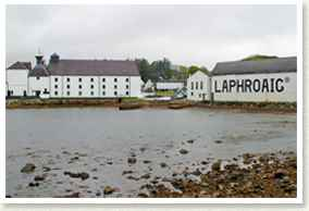 Laphroaig Whisky Distillery