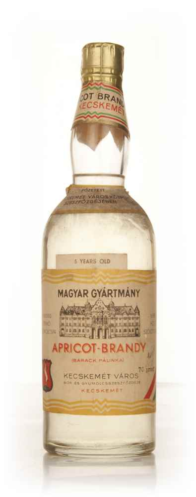 Hungarian Apricot Brandy - 1950s