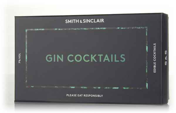 Smith & Sinclair Edible Cocktails - Gin