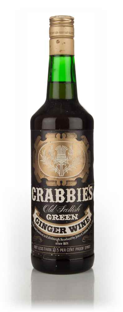 Crabbie's Old Scottish Green Ginger Wine - 1970s