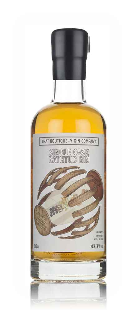 Single Cask Bathtub Gin - Tobermory Heavily Peated Oloroso Cask (That Boutique-y Gin Company)