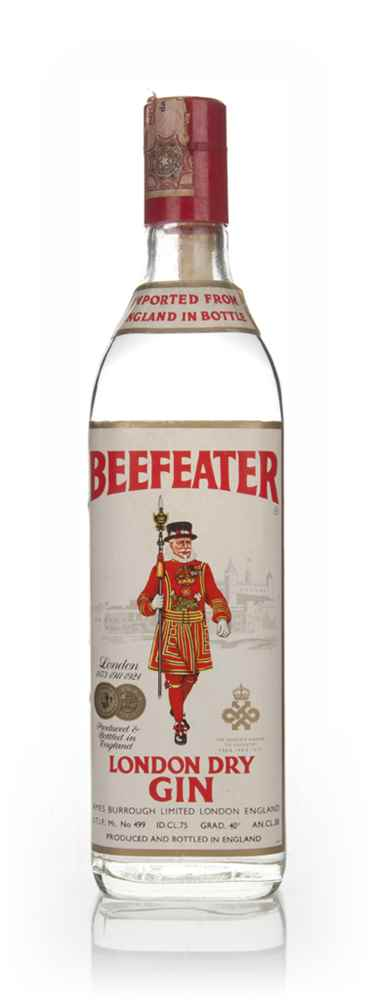 Beefeater London Dry Gin 40% - 1970s
