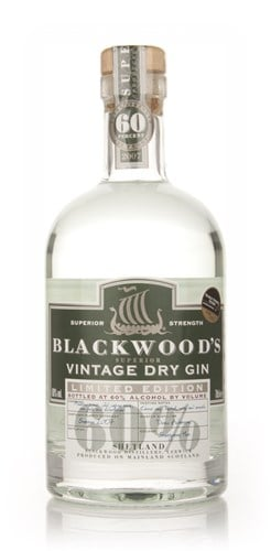 Blackwoods 2007 Vintage Dry Gin Premium Strength