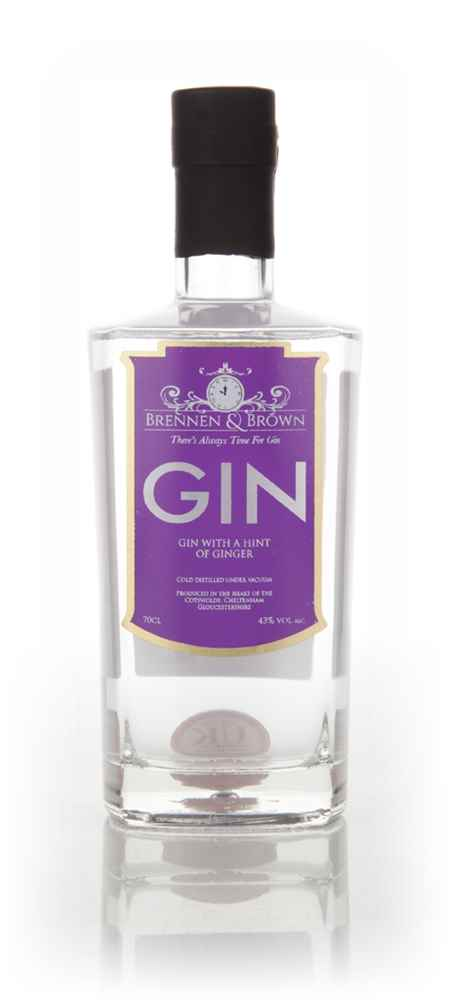 Brennen & Brown Gin with A Hint Of Ginger
