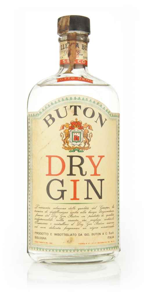 Buton Dry Gin - 1960s
